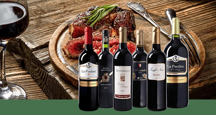 Uniek proefpakket rode wijnen