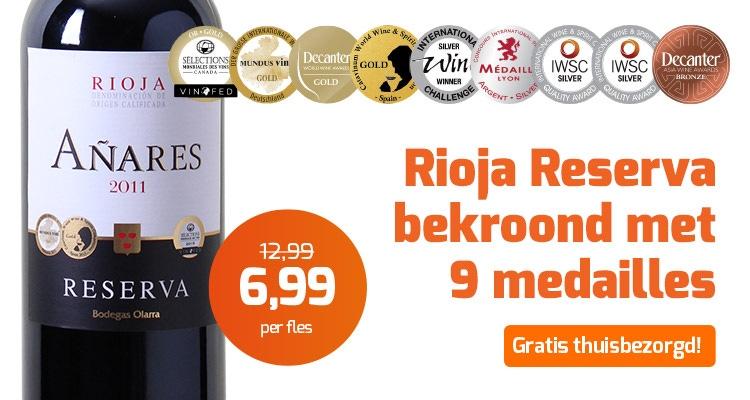 Rioja Reserva Añares sfeer