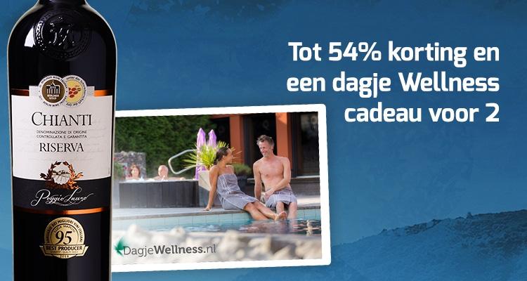 Tot 54% korting + dagje wellness voor 2