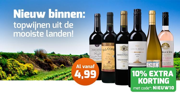 Nieuwe wijnen special!