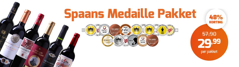 Spaans Medaille pakket sfeer