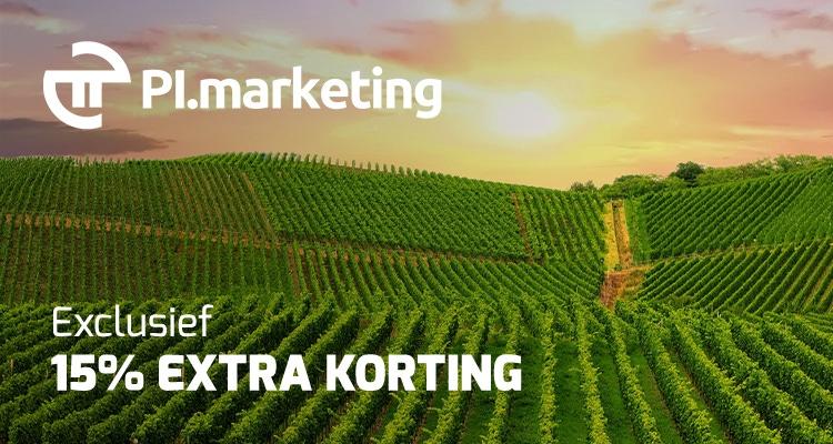 PI Marketing exclusief 15% korting