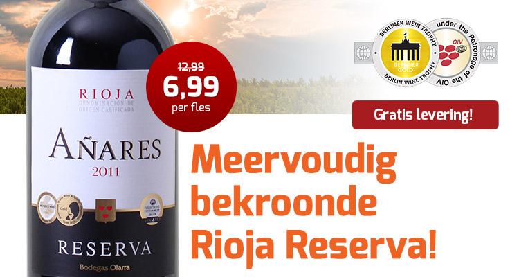 Bekroondje Rioja
