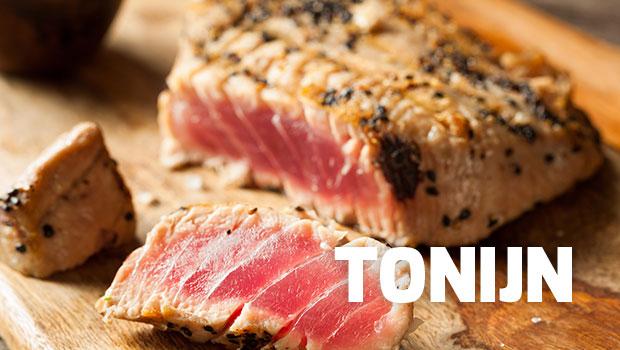 wijn bij tonijn