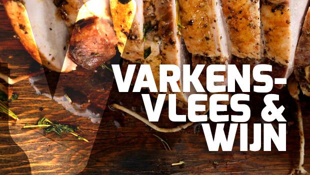Varkensvlees en wijn