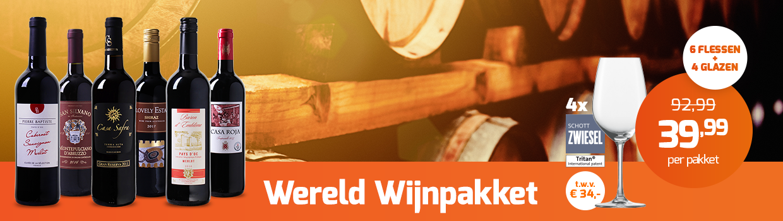 Wereld Wijnpakket header