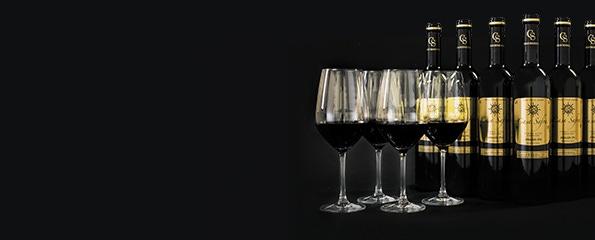 Wijnpakket Casa Safra met 4 glazen