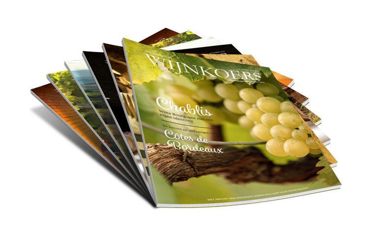 Wijnkoers magazines