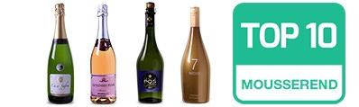 Top 10 Mousserende wijnen