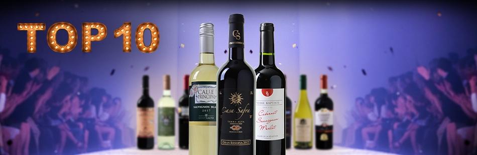 Top 10 wijnen | Wijnvoordeel